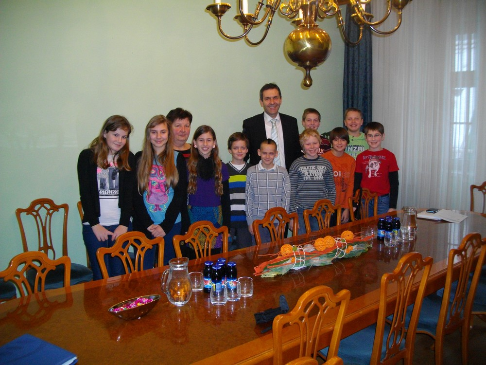 Obisk pri županu Občine Krško