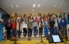 Kanček vzdušja Potujoče muzike tudi v šolski jedilnici