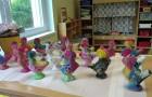 Šentjernejski petelini v prvem razredu