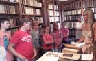 Obisk Valvasorjeve knjižnice Krško