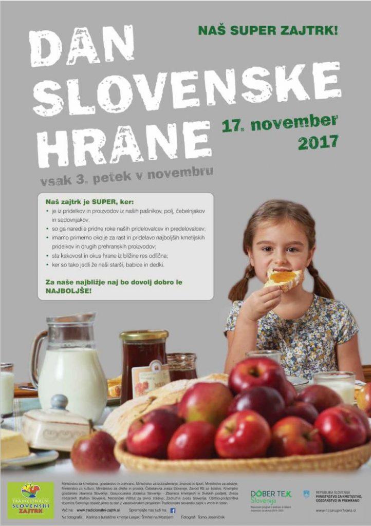 17. november – DAN SLOVENSKE HRANE