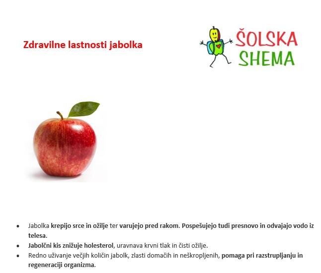 Zdravilne lastnosti jabolka